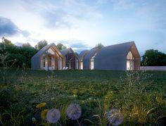 Small House, Shingle House, Frame House / studio84 – nowoczesna STODOŁA | wnętrza & DESIGN | projekty DOMÓW | dom STODOŁA
