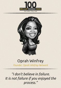 Oprah Winfrey - Inspirational Quote