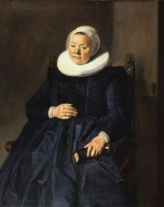 Frans Hals Portrait of a Woman 1635