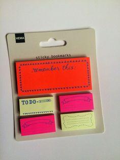 Sticky bookmarks/ sticky notes  Filofax Erin by MakeAJournal