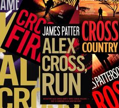 "James Patterson books...the Alex Cross series is usually ""white knuckle"" territory!  Great reads."