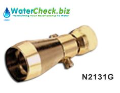 Our Niagara N2131G Low Flow Valve Gold 2.25 GPM Shower head is rated #1 by leading conservation groups. Get more info here about this product: http://www.watercheck.biz/water-shop/product/78-niagara-n2131-low-flow-valve-gold-showerhead-225-gpm #Water