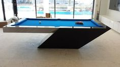 Ridiculously great pool table design!