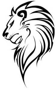Resultado de imagem para lion draw tattoo