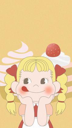 New funny girl phones Ideas Cute Pastel Wallpaper, Bear Wallpaper, Trendy Wallpaper, Kawaii Wallpaper, Disney Phone Wallpaper, Wallpaper Iphone Cute, Anime School Girl, Anime Art Girl, Cartoon Pics
