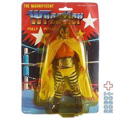 ミルマスカラス フリーポーザブルアクションフィギュア MOC The Magnificent Wrestler Mil Máscaras Fully Posable Action Figure MOC #ActionFigure #アクションフィギュア #アメトイ #アメリカントイ #おもちゃ #おもちゃ買取 #フィギュア買取 #アメトイ買取 #vintagetoys #中野ブロードウェイ #ロボットロボット #ROBOTROBOT #中野 #アクションフィギュア買取 #WeBuyToys  #ミルマスカラス