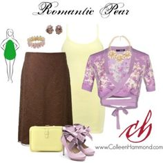 """Learn how to dress a Pear Shaped Body Type here: http://www.colleenhammond.com/how-to-dress-the-pear-shape-body/ Sign up for fashion tips: http://eepurl.com/4jcGX Do your clothing choices, manners, and poise portray the image you want to send? """"Dress how you wish to be dealt with!"""" (E. Jean)"""
