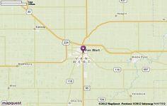 Van Wert, OH Map | MapQuest