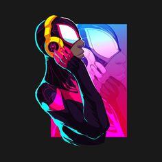 Miles Morales - Ultimate Spider-Man, Into the Spider-Verse Miles Spiderman, Miles Morales Spiderman, Black Spiderman, Spiderman Art, Ultimate Spider Man, Marvel Art, Marvel Comics, Spiderman Tattoo, Amazing Fantasy 15