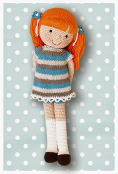 Nadine / Gehäkelte Puppe ♡