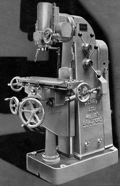 Milnes Milling Machine