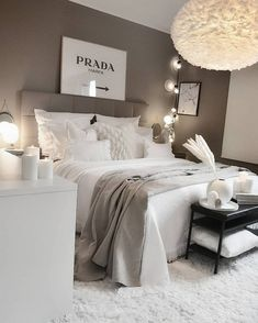 Home Decor Bedroom .Home Decor Bedroom Room Ideas Bedroom, Home Decor Bedroom, Ikea Bedroom, Bedroom Wall, Bedroom Furniture, Bedroom Inspo, Gray Room Decor, White Bedroom Decor, Bedroom Shelves