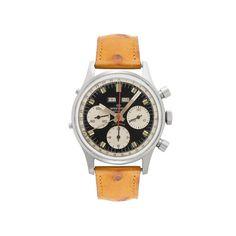 Wakkmann  Triple Calendar Chronograph  Reference: Wakmann 71.1309.70 Movement: Valjoux 72C Year: 1960's Case Material: Steel  Case Size: 37 mm $ 3,250.00 USD