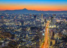 Tokyo Twilight by Jiratto