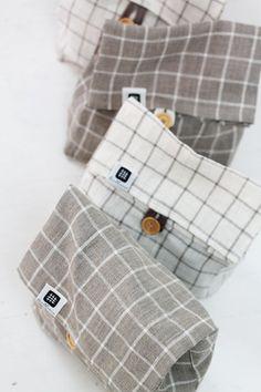 Natural linen fabric bag to keep food fresh!