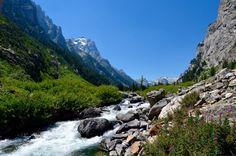 Grand Tetons Cascade Canyon [1200X795] [OC]   landscape Nature Photos