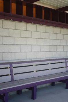 Rizzo Bench: Whittier College CA Dugout Ideas, Whittier College, Baseball Dugout, Outdoor Furniture, Outdoor Decor, Softball, Bench, Wood, Home Decor