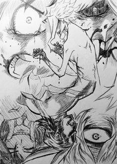 何気に力込めて描いたオールマイト。 いいとこ取り描きだけど好きだ。