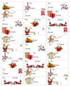 Free Festive Printables From True Taggin Love So Cute And Easy To Print On Avery 5160 Labels