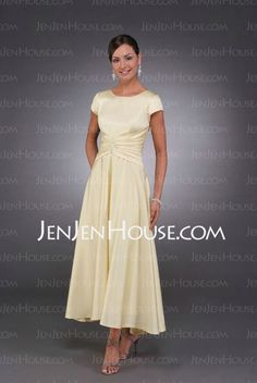 Mother of the Bride Dresses - $78.49 - Elastic Satin Wrist Strapless Scoop Neck Mother of the Bride Dresses With Asymmetrical (008005699) http://jenjenhouse.com/Elastic-Satin-Wrist-Strapless-Scoop-Neck-Mother-Of-The-Bride-Dresses-With-Asymmetrical-008005699-g5699