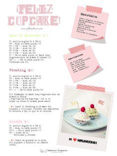 Free Patterns: ¡Feliz Cupcake!