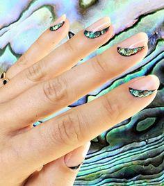 Mirrored nail art
