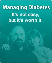 If you are living with #diabetes or have a loved with the disease, it's important to work together to manage #diabetes to stay healthy and prevent complications. Learn more.
