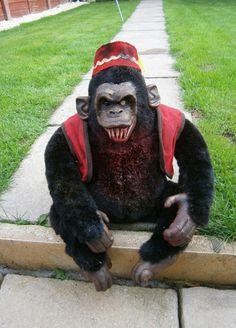 evil monkey~inspiration for a my monkey makeover