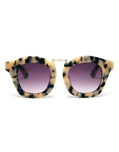 Image 2 of ASOS Handmade Acetate Retro Sunglasses With Metal Bridge Detail