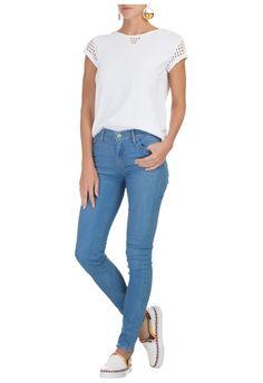 LEVIS - Calça jeans 710 super skinny strech - OQVestir