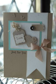 Stampin'spiration: Wedding or Valentine?