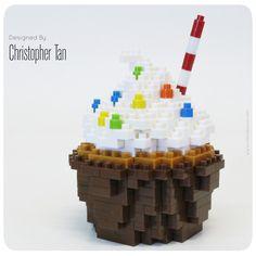 nanoblock Chocolate Cupcake