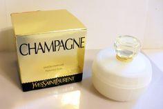 Vintage 1990s Champagne by Yves Saint Laurent 100 gr Perfumed Vintage  Perfume, Ysl, Perfume 7d68362e906
