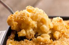 Three Cheese Mac and Cheese with Panko Bread Crumb Topping Recipe TLDMAT - CHOW.com