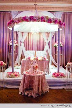 Nigerian wedding sweetheart stage