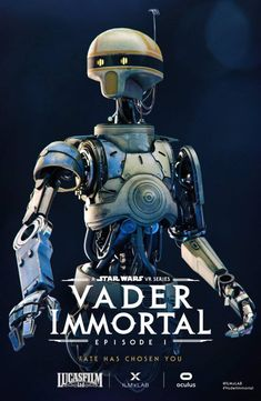 Vader Immortal Posters Revealed For San Diego Comic-Con Star Wars Droids, Star Wars Rpg, Star Wars Gadgets, Star Wars Video Games, Star Wars Concept Art, Episode Vii, The Old Republic, Star War 3, San Diego Comic Con