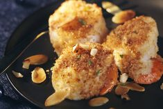 Scallops: our best Christmas starters - Trend Appetizer Fine Dining 2019 Seafood Diet, Seafood Appetizers, Breaded Scallops Recipe, Christmas Starters, Cuisine Diverse, Macro Meals, Scallop Recipes, Baked Fish, French Food