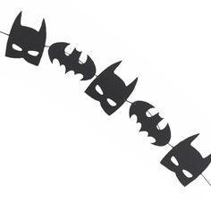Batman Banner - RTS Banner - Batman Birthday - Superhero Banner - Superhero Birthday - Batman Decor - Superhero Decoration -Batman Garland