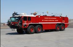 Phoenix Fire Department Sky Harbor International Airport http://rawhidefirehose.com/ #firefighting #firehose