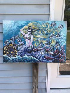 A personal favorite from my Etsy shop https://www.etsy.com/listing/522833382/blonde-mermaid-see-ocean-beach-bay