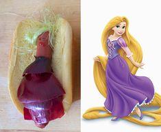 Acredite se quiser: são Princesas Disney reimaginadas em hot-dogs