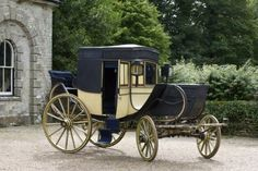 The early-nineteenth-century Antrobus travelling chariot. ©National Trust Images/Mark Bolton