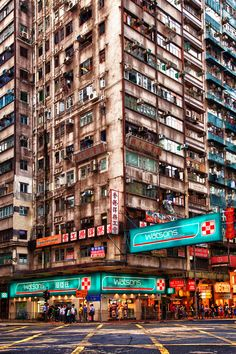Hong Kong street by Maxim Solodov on 500px.  Somewhere in Hong Kong, 2011
