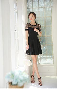 vestido clássico da senhora
