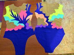 Пошив купальника для гимнастики в подробностях(пошив, роспись, стразы). Обсуждение на LiveInternet - Российский Сервис Онлайн-Дневников