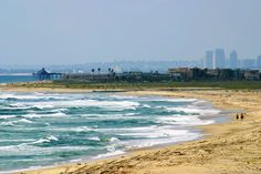 My first year in the Navy I was stationed at Naval Air Station Imperial Beach with Helicopter Antisubmarine Squadron 84. This shows how close San Diego is in the view looking North from the beach.
