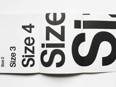 A Sign Systems size