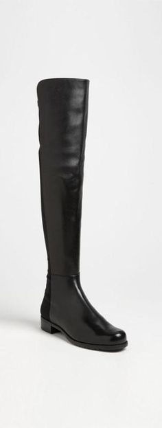 Over the moon for Stuart Weitzman's over the knee boots ;) - Leather Boots - Ideas of Leather Boots - Over the moon for Stuart Weitzman's over the knee boots Women's Shoes, Me Too Shoes, Bootie Boots, Shoe Boots, Calf Boots, 5050 Boots, Stilettos, Pumps, Over Boots