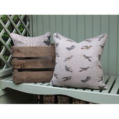 Multi Hummingbird Cushion