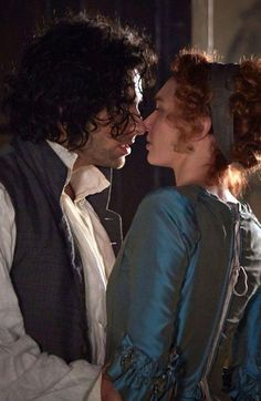 But research shows that marriage in the century was actually a mercenary affair in the vast majority of cases, pictured is Aidan Turner as Captain Poldark and Eleanor Tomlinson as Demelza Poldark 2015, Demelza Poldark, Ross Poldark, Eleanor Tomlinson, Poldark Series 2, Ross And Demelza, Aidan Turner Poldark, Aiden Turner, Adrian Turner